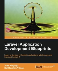 Laravel Application Development Blueprints-cover