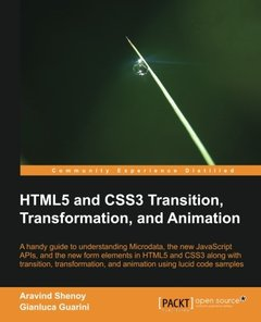 HTML5 and CSS3 Transition, Transformation, and Animation (Open Source)-cover
