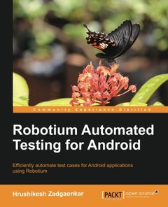 Robotium Automated Testing for Android-cover
