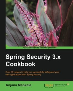 Spring Security 3.x Cookbook-cover