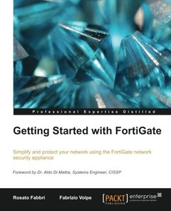 Getting Started with FortiGate (Paperback)-cover