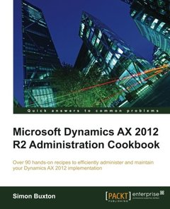 Microsoft Dynamics AX 2012 R2 Administration Cookbook-cover