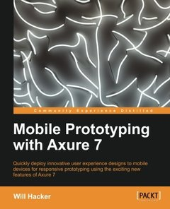 Mobile Prototyping with Axure 7 (Paperback)-cover