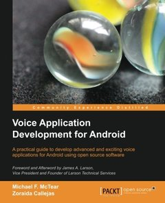 Voice Application Development for Android-cover
