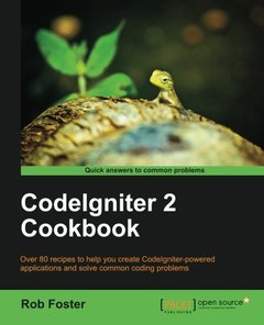 CodeIgniter 2 Cookbook-cover