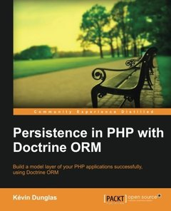 Persistence in PHP with Doctrine ORM-cover
