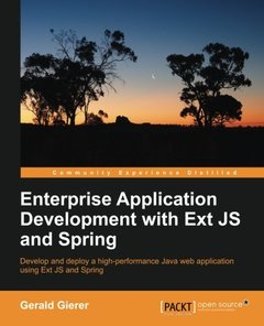 Enterprise Application Development with Ext JS and Spring-cover