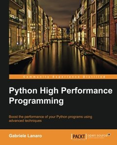 Python High Performance Programming-cover