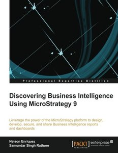 Discovering Business Intelligence Using MicroStrategy 9-cover