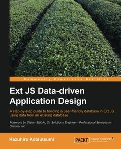 Ext JS Data-driven Application Design-cover