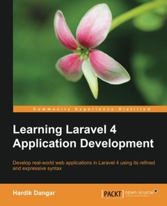 Learning Laravel 4 Application Development-cover