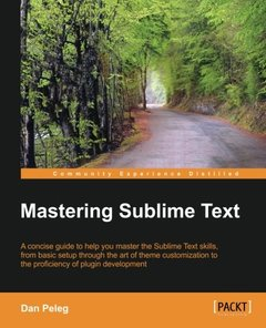 Mastering Sublime Text-cover