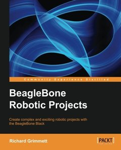 BeagleBone Robotic Projects (Paperback)-cover
