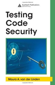 Testing Code Security (Hardcover)-cover