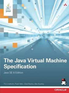 The Java Virtual Machine Specification, Java SE 8 Edition (Paperback)-cover