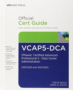 VCAP5-DCA Official Cert Guide: VMware Certified Advanced Professional 5- Data Center Administration (Hardcover)-cover