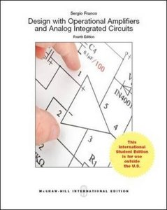 Design With Operational Amplifiers And Analog Integrated Circuits, 4/e (IE-Paperback)-cover