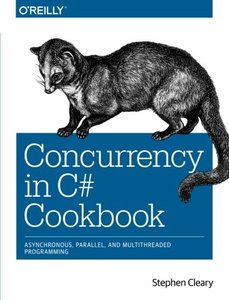 Concurrency in C# Cookbook (Paperback)-cover