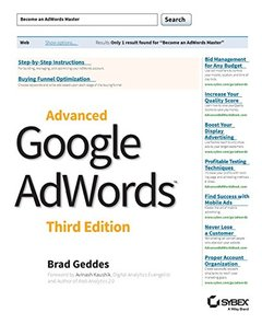 Advanced Google AdWords, 3/e (Paperback)-cover