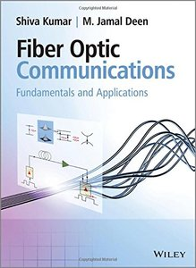 Fiber Optic Communications: Fundamentals and Applications (Hardcover)-cover