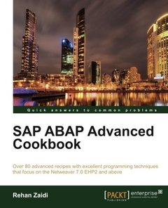 SAP ABAP Advanced cookbook (Quick Answers to Common Problems)-cover