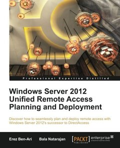 Windows Server 2012 Unified Remote Access Planning and Deployment-cover