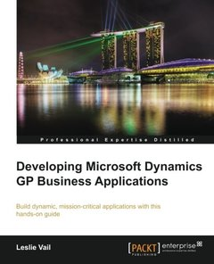 Developing Microsoft Dynamics GP Business Applications-cover