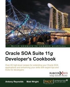 Oracle SOA Suite 11g Developer's Cookbook-cover