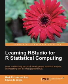 Learning RStudio for R Statistical Computing-cover