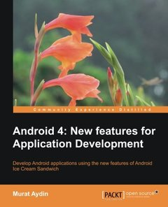 Android 4: New Features for Application Development-cover