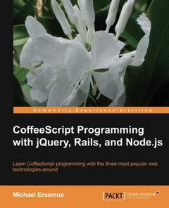 CoffeeScript Programming with jQuery, Rails, and Node.js-cover