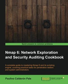 Nmap 6: Network exploration and security auditing Cookbook-cover