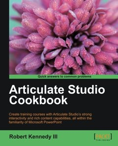 Articulate Studio Cookbook-cover