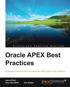Oracle APEX Best Practices-cover