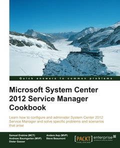 Microsoft System Center 2012 Service Manager Cookbook-cover