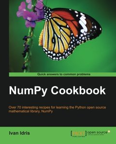 NumPy Cookbook-cover