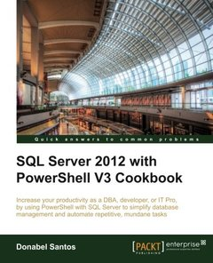 SQL Server 2012 with PowerShell V3 Cookbook-cover