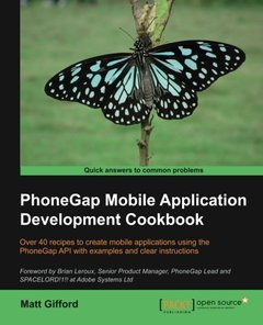 PhoneGap Mobile Application Development Cookbook-cover
