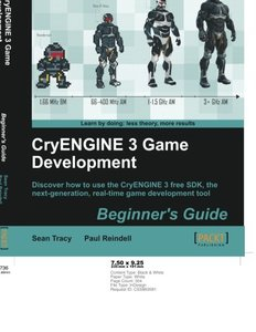 CryENGINE 3 Game Development: Beginner's Guide-cover