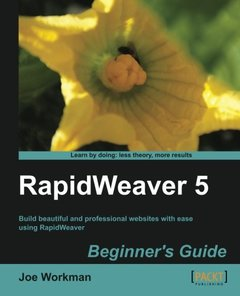 RapidWeaver 5 Beginner's Guide-cover