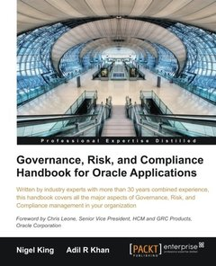 Governance, Risk, and Compliance Handbook for Oracle Applications-cover