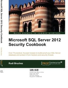 Microsoft SQL Server 2012 Security Cookbook-cover