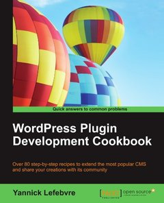 WordPress Plugin Development Cookbook-cover