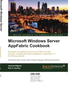 Microsoft Windows Server AppFabric Cookbook-cover