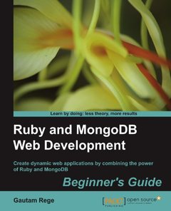 Ruby and MongoDB Web Development Beginner's Guide-cover