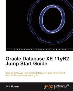 Oracle Database XE 11gR2 Jump Start Guide-cover