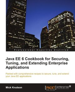 Java EE 6 Cookbook for Securing, Tuning, and Extending Enterprise Applications-cover