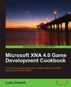 Microsoft XNA 4.0 Game Development Cookbook-cover