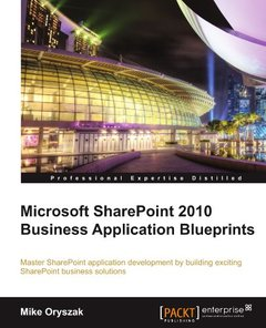 Microsoft SharePoint 2010 Business Application Blueprints-cover