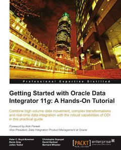Getting Started with Oracle Data Integrator 11g: A Hands-on Tutorial-cover